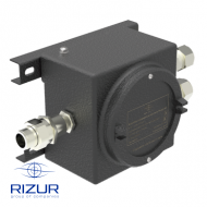 Explosion-proof junction box RIZUR-KC-DC Exd-IIC (made of aluminium alloy)