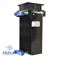 Heaters for control cabinets with a ventilator RIZUR-OShA-IP20-V