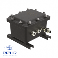 Explosion-proof junction boxes RIZUR-KC-DB Exd-IIB (made of aluminium alloy)