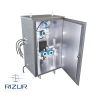 Metal enclosures RIZURBOX-M-RK with classical opening