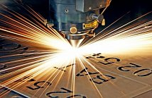 Laser metal cutting
